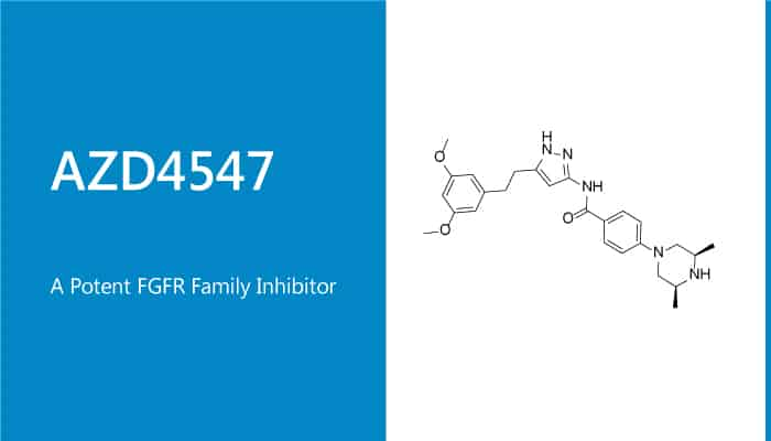 AZD4547 is a Potent FGFR Family Inhibitor 2020 01 21 - AZD4547 is a Potent FGFR Family Inhibitor
