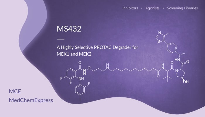 MS432 is a Highly Selective PROTAC Degrader for MEK1 and MEK2 2019 12 26 - MS432 is a Highly Selective PROTAC Degrader for MEK1 and MEK2